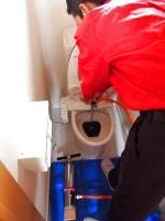 トイレの詰まり処理